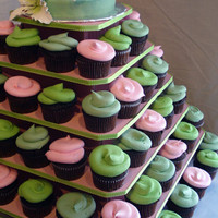 The Original Cupcake Tree-  Square  (holds  up to 100 cupcakes) $29