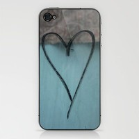 Heart Graffiti iPhone & iPod Skin by Shy Photog | Society6