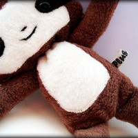 Small Magnetic Cedric The Baby Sloth Plushie by Plusheeze on Etsy
