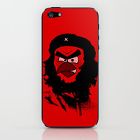 Angry Bird as Che Guevarra iPhone & iPod Skin by Olechka | Society6