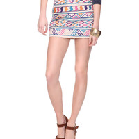 Vibrant Tribal Skirt | FOREVER21 - 2000013948