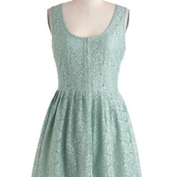 Jack by BB Dakota Cheer and Dear Dress in Mint | Mod Retro Vintage Dresses | ModCloth.com