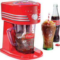 Coca Cola Frozen Slush Drink Maker Margarita Smoothie Blender Ice Shaver Machine