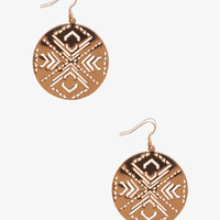 Cutout Southwestern Earrings | FOREVER 21 - 1039779527
