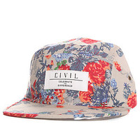 Civil Hat Camper in Floral