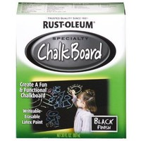 Amazon.com: Rust-Oleum 206540 Chalkboard Brush-On, Black, 30-Ounce: Home Improvement