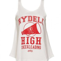 Ladies Grease Rydell High Cheerleading Swing Vest : TruffleShuffle.com