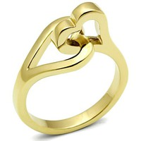 Ion Gold Plated Ring - 065556
