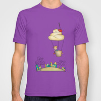 Sweet world T-shirt by Carina Povarchik