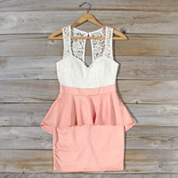 Always &amp; Forever Dress in Peach, Sweet Women&#x27;s Party Dresses