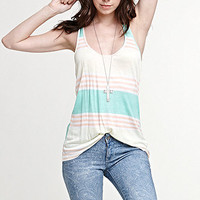 Nollie Scoop Neck Racerback Tank at PacSun.com