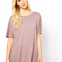 Oasis Embellished Shoulder Top
