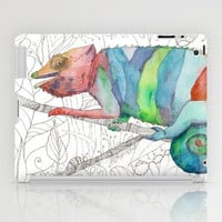 Chameleon Fail iPad Case by Catherine Holcombe