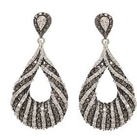 AffinityDiamond 1/3 ct tw Drop Earrings, Sterling — QVC.com