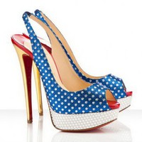 Christian Louboutin Miss America 150mm Womens Slingbacks