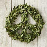 VivaTerra -  VivaTerra - Bay Laurel Peace Wreath