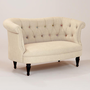 Erin Cute-as-a-Button Loveseat | World Market
