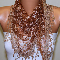 Etsy - Women Shawl Scarf - Headband Necklace Cowl/76575036