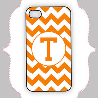 IPhone 5/4s Tennessee Chevron Case Rubber/Hard