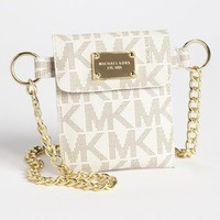MICHAEL Michael Kors Faux Leather Chain Belt Bag | Nordstrom