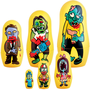 ZOMBIE MATRYOSHKAS