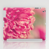 Red Chrysanthemums iPad Case by Erin Johnson