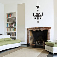 chandelier wall stickers by the binary box | notonthehighstreet.com