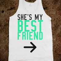She's My Best Friend Left - Protego - Skreened T-shirts, Organic Shirts, Hoodies, Kids Tees, Baby One-Pieces and Tote Bags