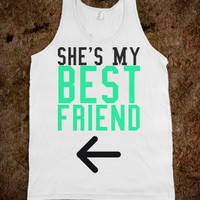 She's My Best Friend Right - Protego - Skreened T-shirts, Organic Shirts, Hoodies, Kids Tees, Baby One-Pieces and Tote Bags