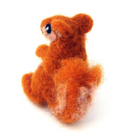 Needle felted Squirrel by drudruchu on Etsy