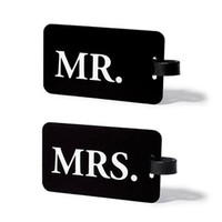 Mr &amp; Mrs. ID Luggage Tag