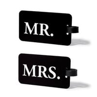 Mr & Mrs. ID Luggage Tag