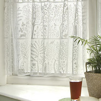 PLASTICLAND - Forrest Friends Ivory Lace Curtain Set