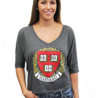 Harvard Crop Top - The Harvard Shop