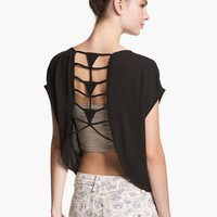 Lattice Cutout Tee