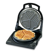 Chef&#x27;s Choice WafflePro Five of Hearts M840 Electric Waffle Maker