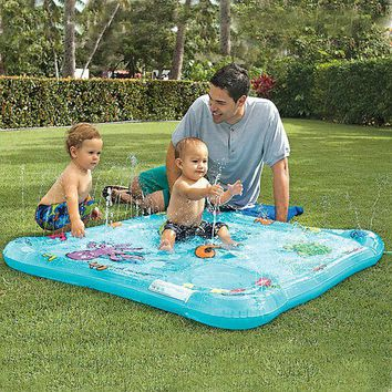 Li'l Squirt Baby Pool, Sprinkler and First Pool