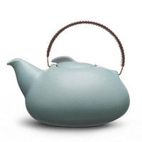 Provide - Collections - Kitchen &amp; Dining by Heath Ceramics - Tea pot large in aqua