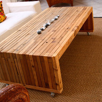 $475.00 100% Reclaimed Cedar Coffee Tables by RandRDesignworks