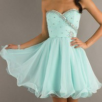 New Style Short hand beads Evening Prom Gowns party/cocktail/homecoming dress from Girlsdresses
