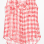 Vintage Havana Gingham Tank Top (Big Girls) | Nordstrom