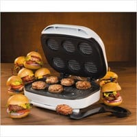 All-League Slider Mini-Burger Grill