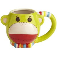 Green Monkey Mug