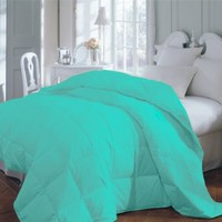 Teal Premium XL Twin Dorm Comforter Set, Twin Extra Long