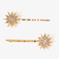 Celestial Burst Hair Pins