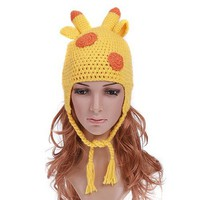 Lovely Giraffe Animal Children's Hat