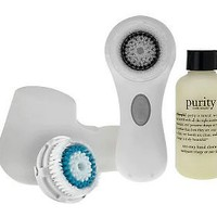 Clarisonic Mia 2 Cleansing System with philosophy purity — QVC.com