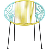 ixtapa yellow/aqua lounge chair