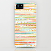 Pencil Doodles iPhone Case by Anita Ivancenko