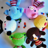 Buy Little Friends pattern - AmigurumiPatterns.net